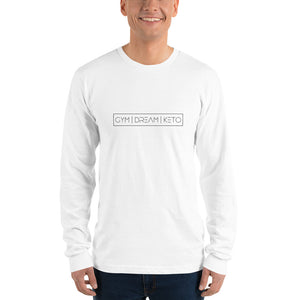 Gym|Dream|Keto -Unisex Long sleeve t-shirt