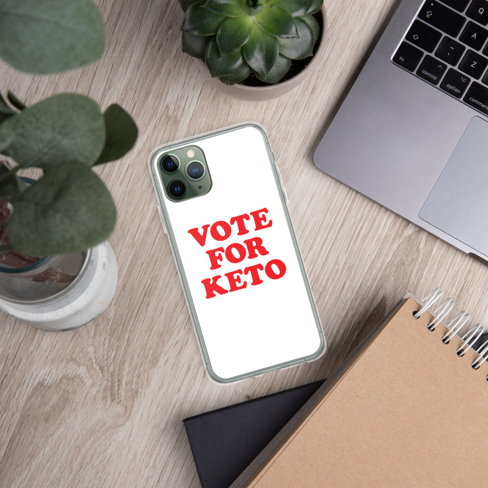 Vote for Keto -iPhone Case