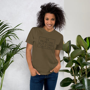 99 Problems but carbs ain't one -Unisex Jersey T-Shirt