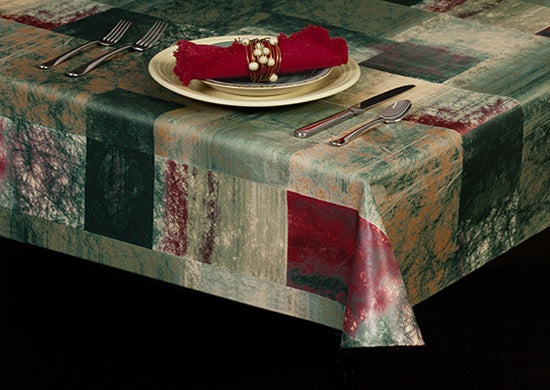 Style 6103 – Tranquility Vinyl Table Cover - Americo Vinyl & Fabric