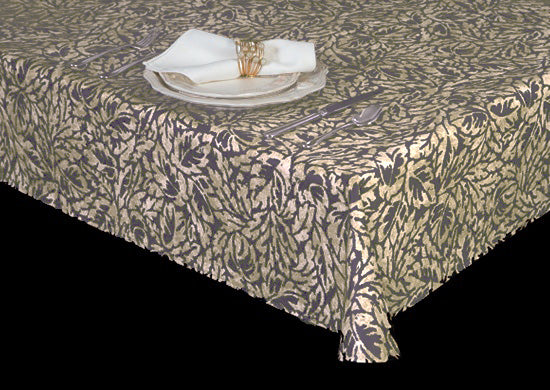 Style 6115 – Hand-Dyed Charm Vinyl Table Cover - Americo Vinyl & Fabric