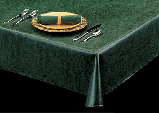 Style 9820 – Stunningly Practical Vinyl Table Cover - Americo Vinyl & Fabric