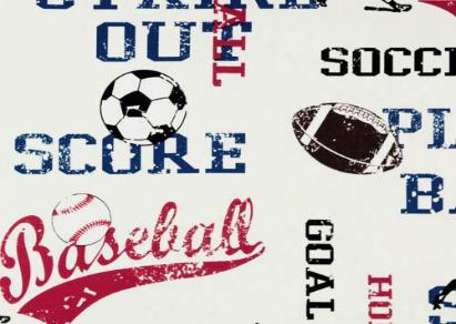 Style 1105- Sports Tribute - Americo Vinyl & Fabric