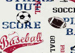 Style 1105- Sports Tribute Vinyl Table Cover - Americo Vinyl & Fabric