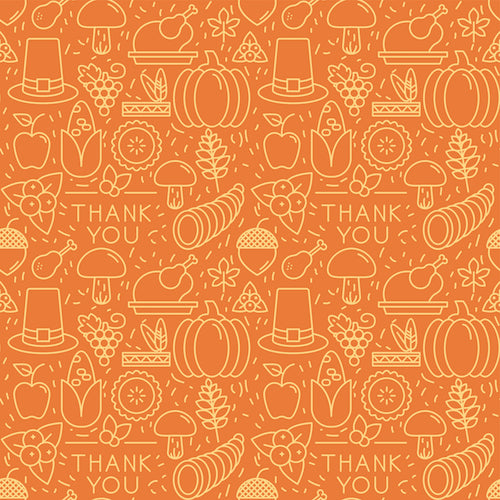 Thanksgiving Platter Vinyl Table Cover - Americo Vinyl & Fabric