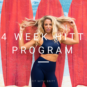 Four Week HITT Program