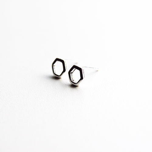 Hexagon Studs