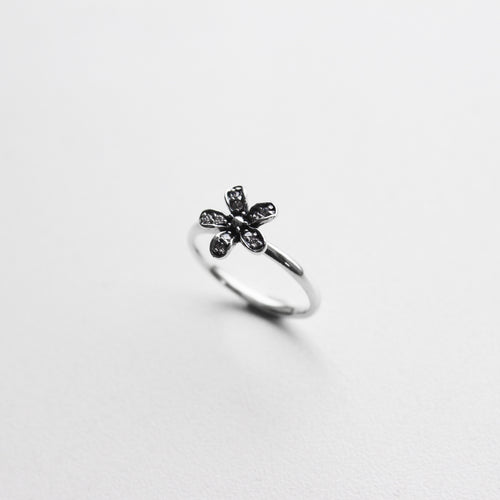 CZ Flower Ring