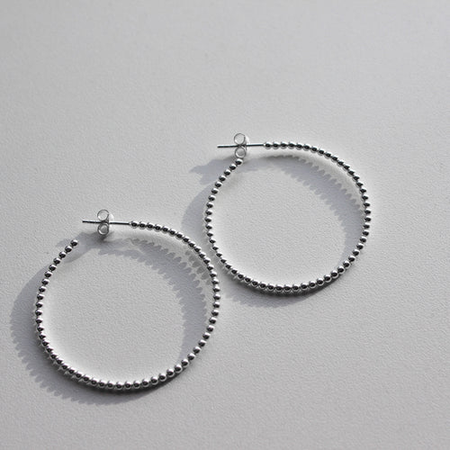 Ball Stud Hoops