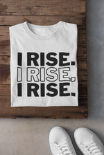 "Load image into Gallery viewer, UNISEX GEN90 ""I RISE"" TEE"