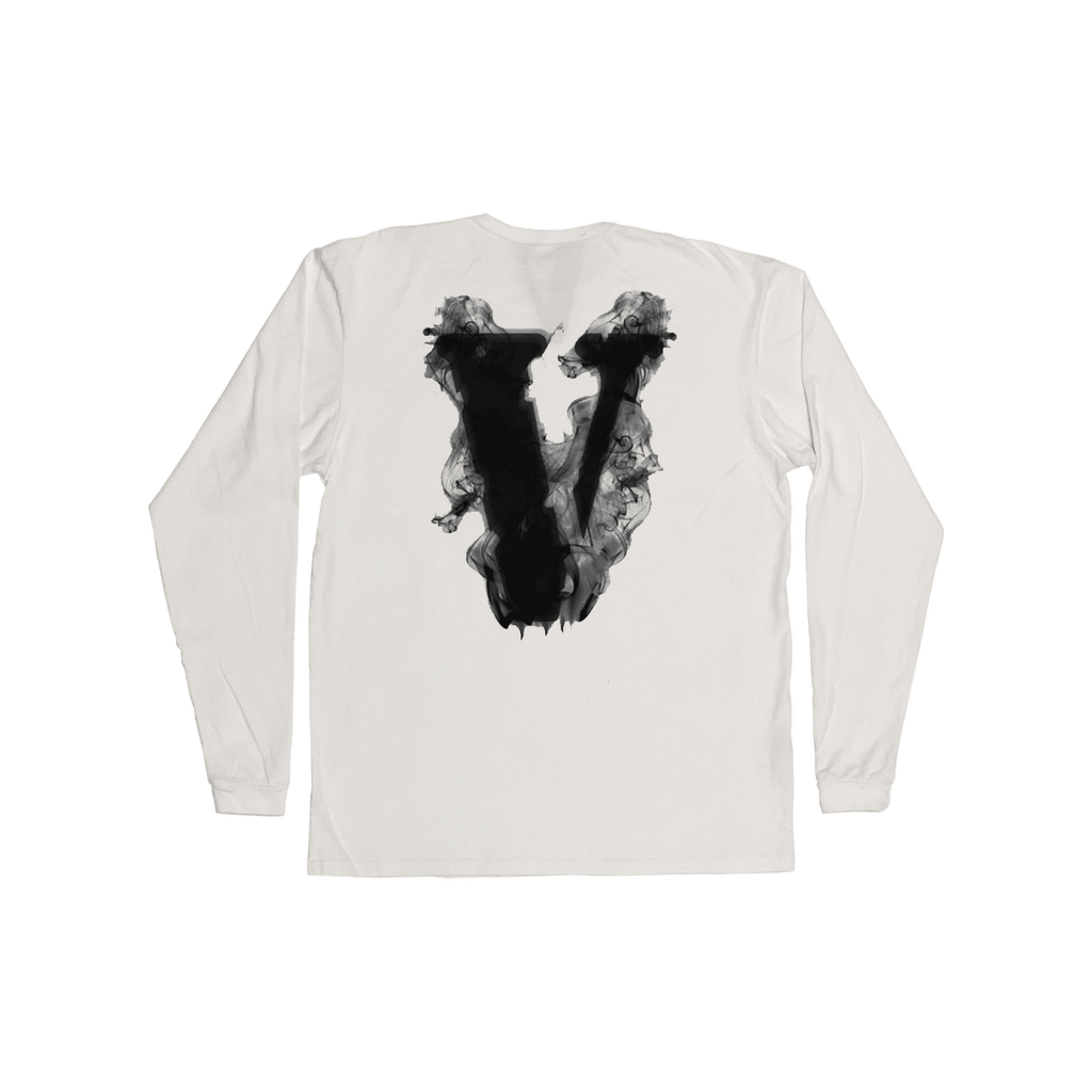 Smoke Long Sleeve (White)