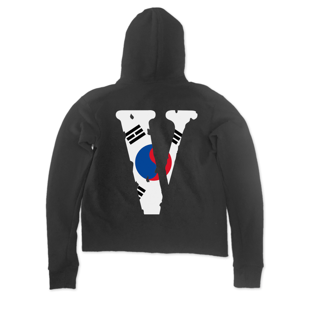 South Korea Staple Pullover (Black)