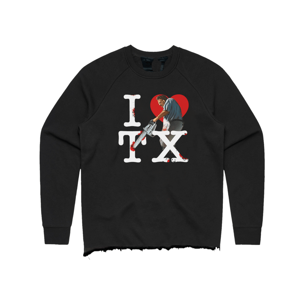 Texas Love Crewneck (Black)