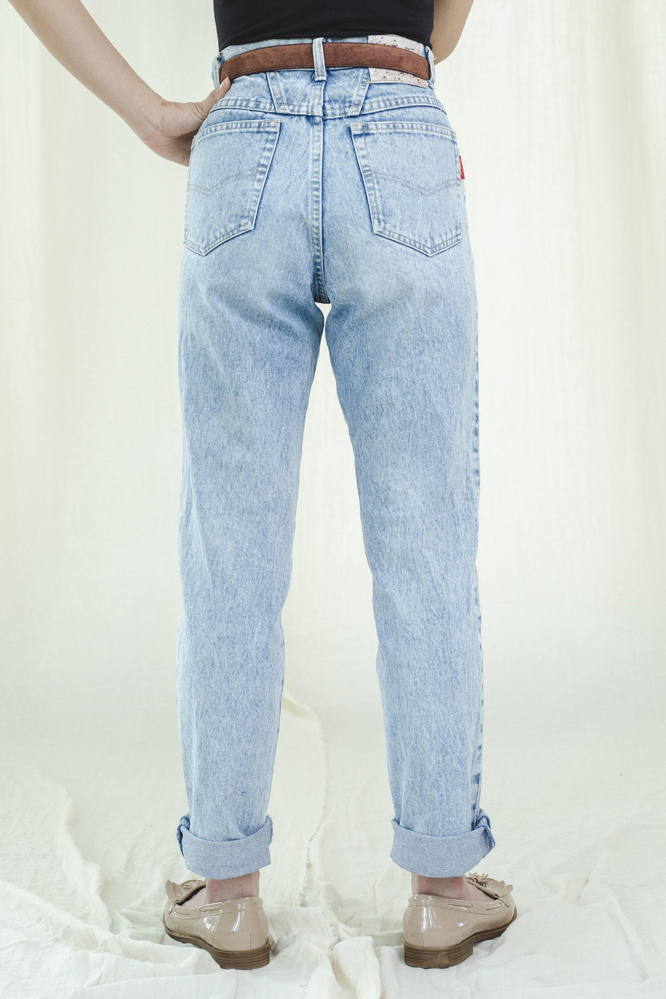 Jeans | Light blue | Vintage 1980s - Sugar & Cream Vintage