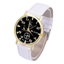 Load image into Gallery viewer, GENEVA Mens Leather Business Wristwatch