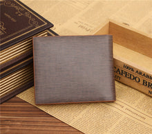 Load image into Gallery viewer, JINBAOLAI Men Business Leather Short Wallet