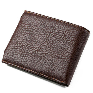 JINBAOLAI Men Leather Bifold Wallet
