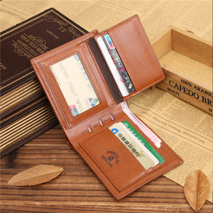 Brown Coffee Leather Wallet