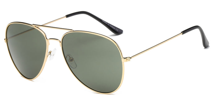 Unisex Metal Classic Premium Mirrored Fashion Sunglasses