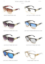 Load image into Gallery viewer, Mens Vintage Oversize Square Sunglasses