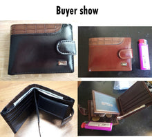 Load image into Gallery viewer, Baellerry Vintage Leather Wallet