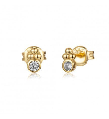 Dainty dot Stud Earrings