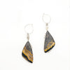 Bumblebee Jasper Butterfly Earrings