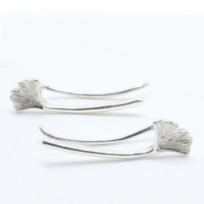 Gingko Climber Earrings