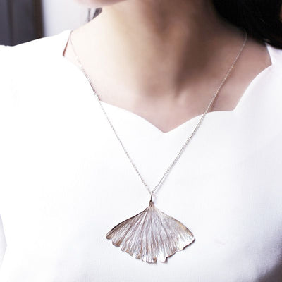 Gingko Leaf Necklace
