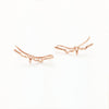 Heart Beat Crawler Earrings