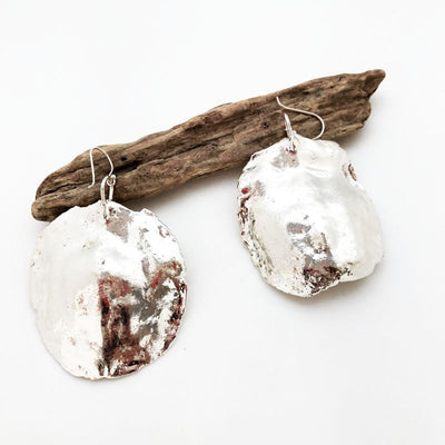 Jacaranda Seed earrings