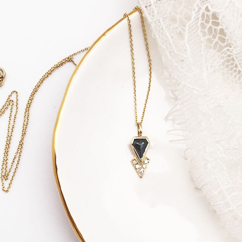 Kite Diamond Necklace