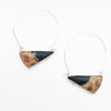Petrified Palm Root Earrings