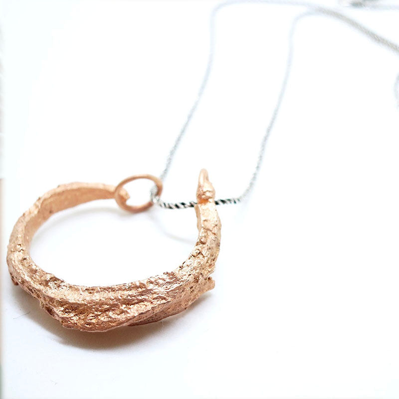 Tree Bark Necklace