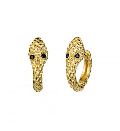 Snake Ear Hoop Earrings