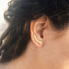 Thick Wheat Earrings