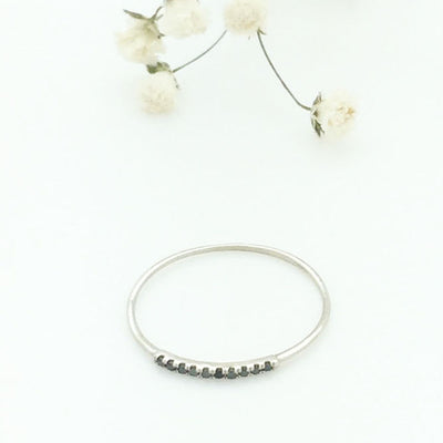 Black Diamond Minimal pave band