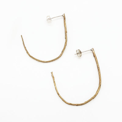 Twig Ear Hoops