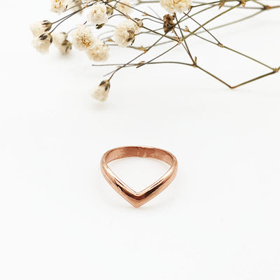 Thick Chevron ring