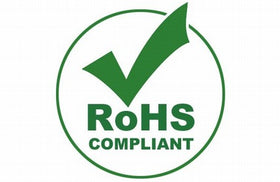 Green ROHS Compliant Logo