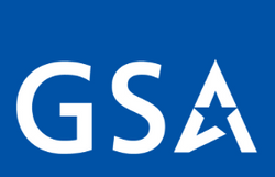 Blue GSA Approved Vendor Logo