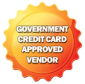 Government Credit Card Approved Vendor