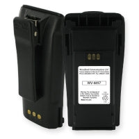 NNTN4497 Premium high-capacity LiIon battery for Motorola CP150, CP200 Radios. WB# WV-BLI-4497. - Waveband Communications