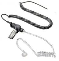 589-2006-057 (V) Receive-Only Earpiece with Coil Cord and Right Angle Plug - Waveband Communications