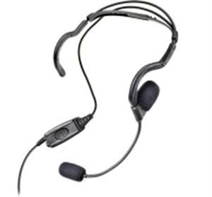 MOTOTRBO Behind-the-head Headset (PMLN5101A) - Waveband Communications