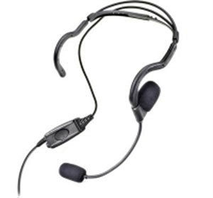 Icom Radio compatible Heavy duty lightweight headset. WB# WV9-467-I2