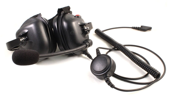 PMLN5278 Heavy Duty Noise Canceling Headset. WB# WV4-1002 - Waveband Communications