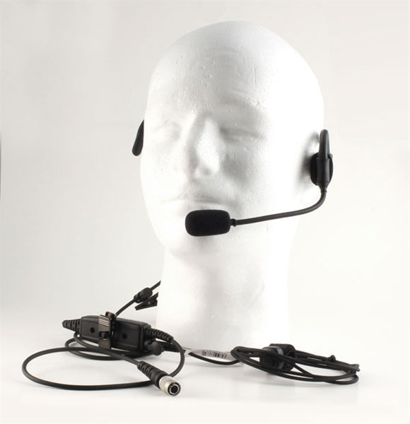 NMN6245A1 Compatible Quick Disconnect Headset for Motorola APX 1000 - Waveband Communications