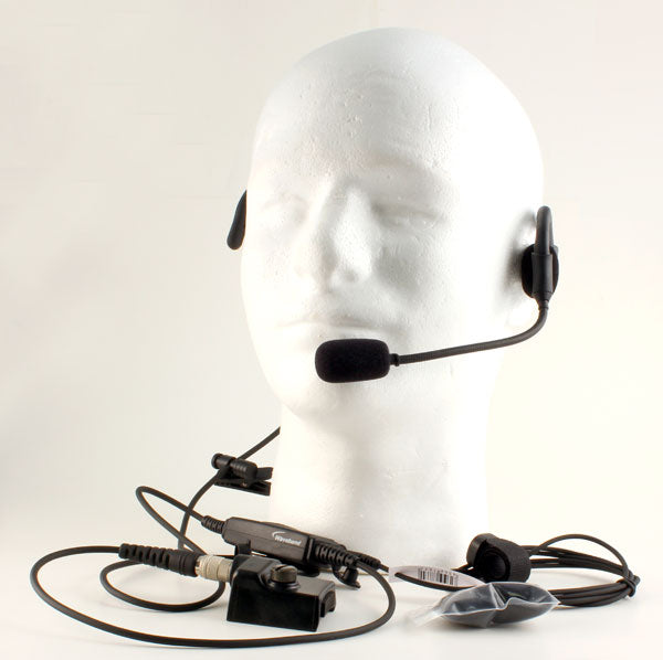 700P / P7100 / P7130 P7150 / P7170 / P5100 / P5130 / P5150 Jaguar Quick Disconnect UDC Speaker Behind-the-Head Headset M/A COM Jaguar WB