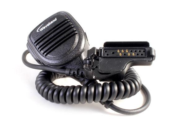 Motorola pmmn4045b noise canceling remote speaker mic for XTS4250 radio - Waveband Communications